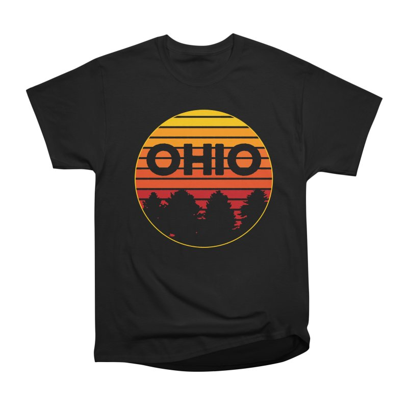 Ohio Sunsets Men's Heavyweight T-Shirt by EngineHouse13's Artist Shop