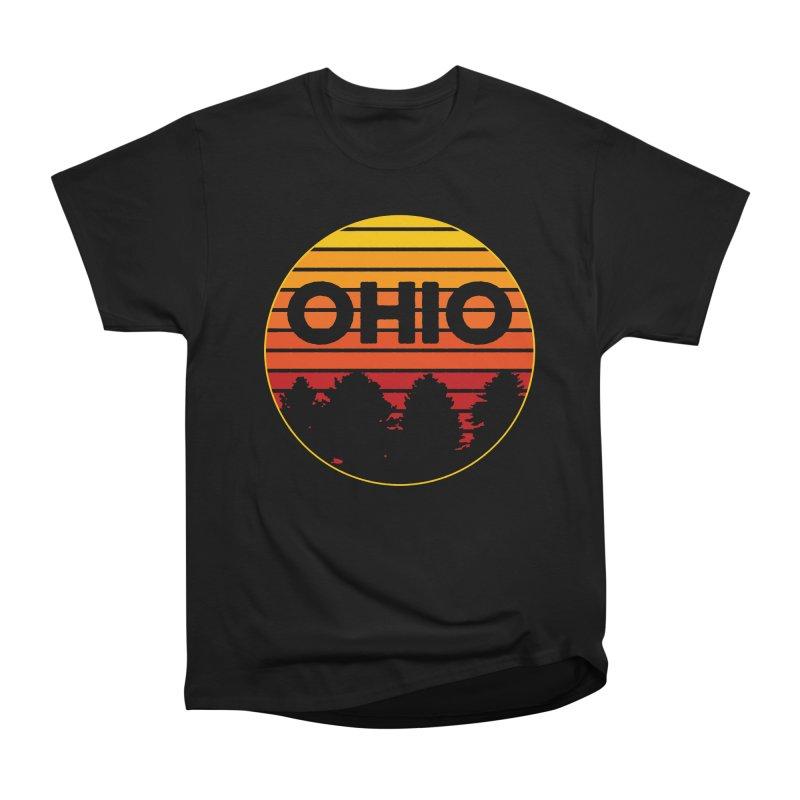 Ohio Sunsets Women's Heavyweight Unisex T-Shirt by EngineHouse13's Artist Shop
