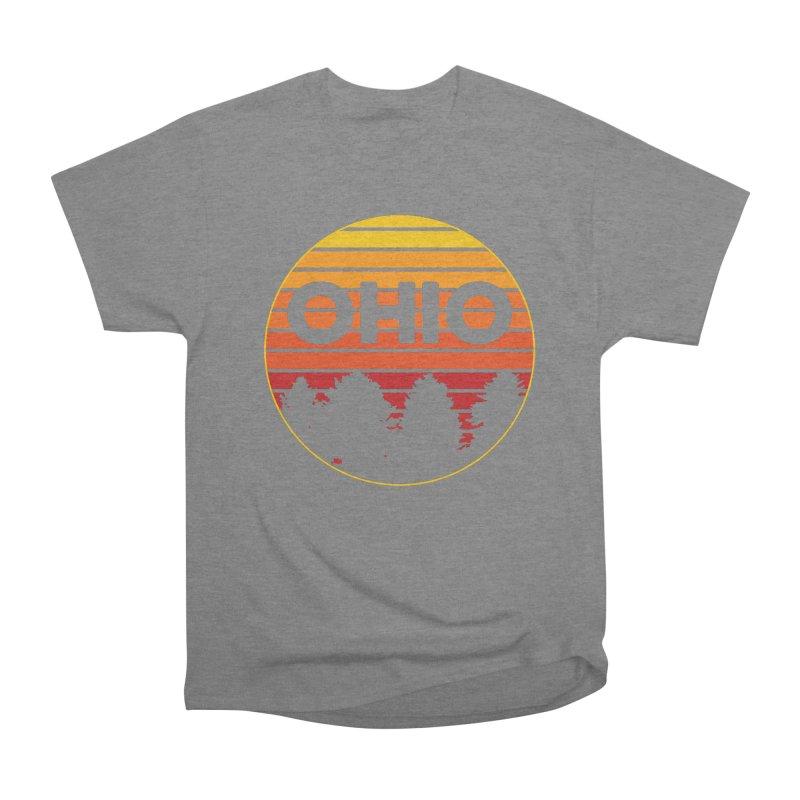 Ohio Sunsets Men's Heavyweight T-Shirt by EngineHouse13's Artist Shop
