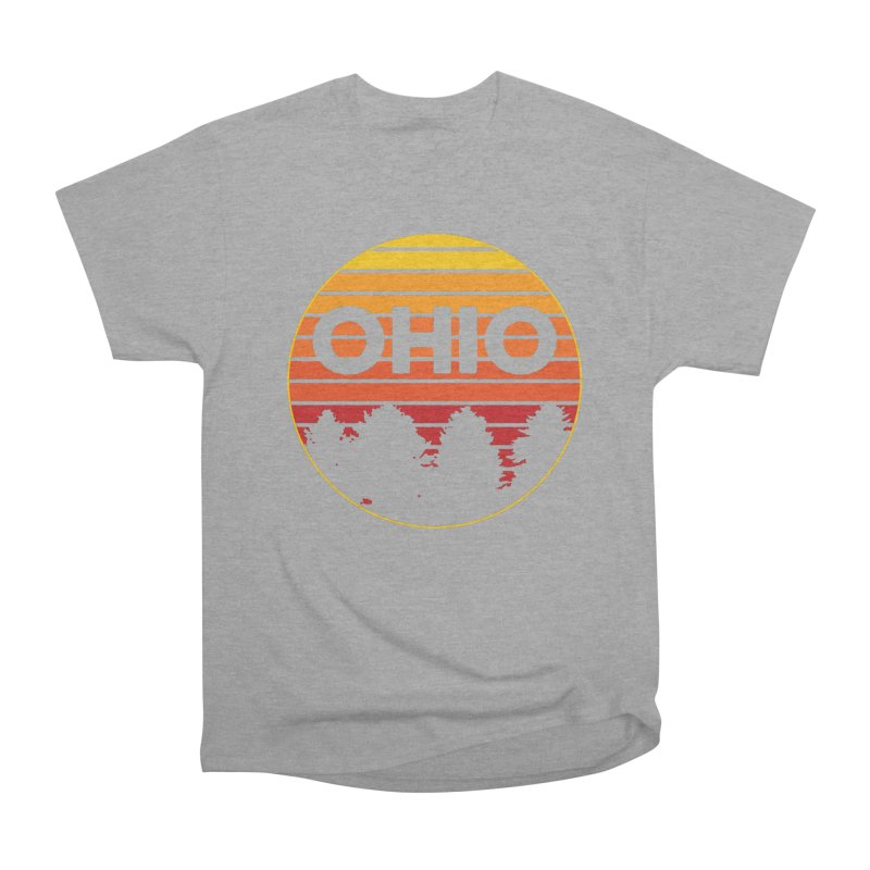 Ohio Sunsets Women's Heavyweight Unisex T-Shirt by EngineHouse13's Artist Shop