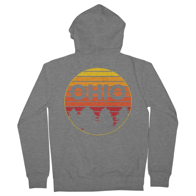 Ohio Sunsets Women's Zip-Up Hoody by EngineHouse13's Artist Shop