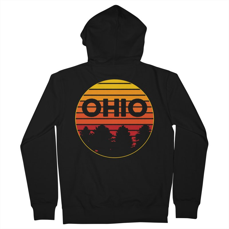 Ohio Sunsets Men's Zip-Up Hoody by EngineHouse13's Artist Shop