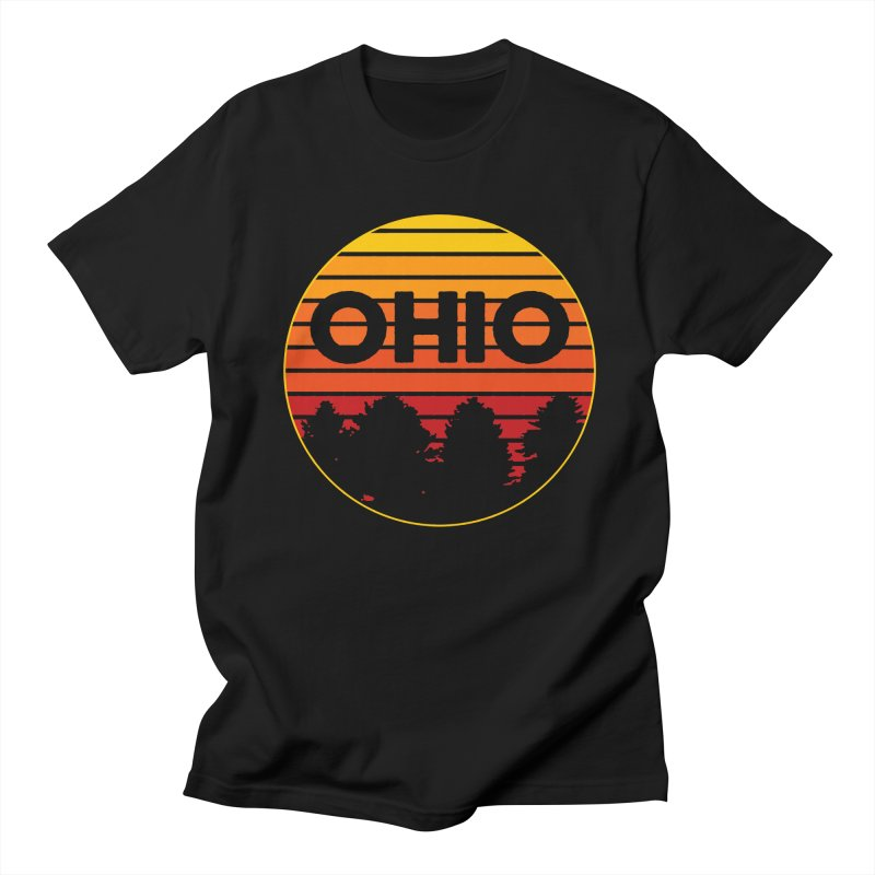 Ohio Sunsets Men's Regular T-Shirt by EngineHouse13's Artist Shop