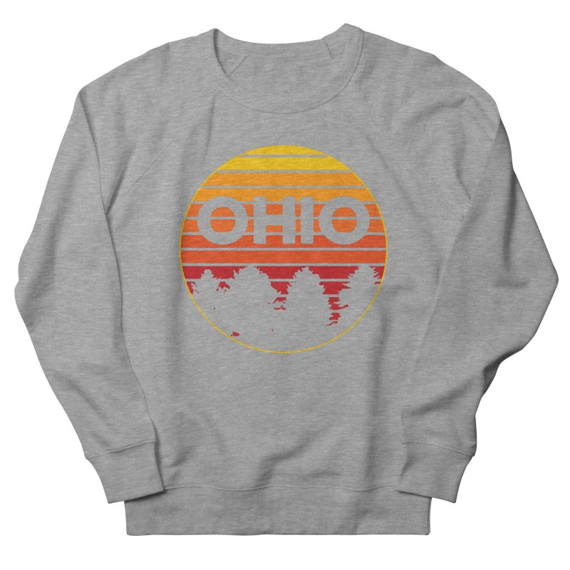 Ohio Sunsets Women's French Terry Sweatshirt by EngineHouse13's Artist Shop