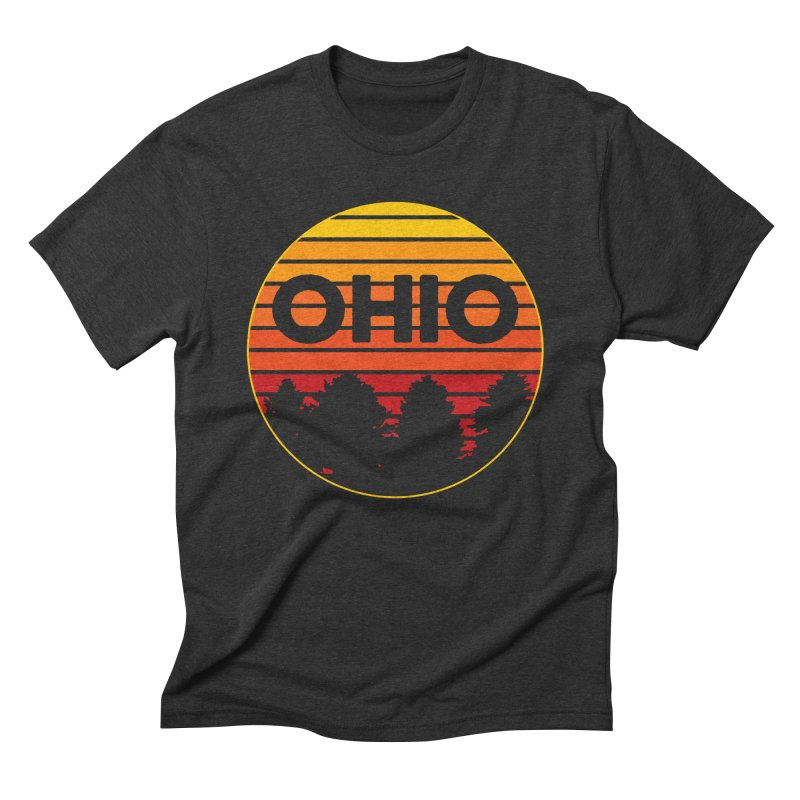 Ohio Sunsets Men's Triblend T-Shirt by EngineHouse13's Artist Shop