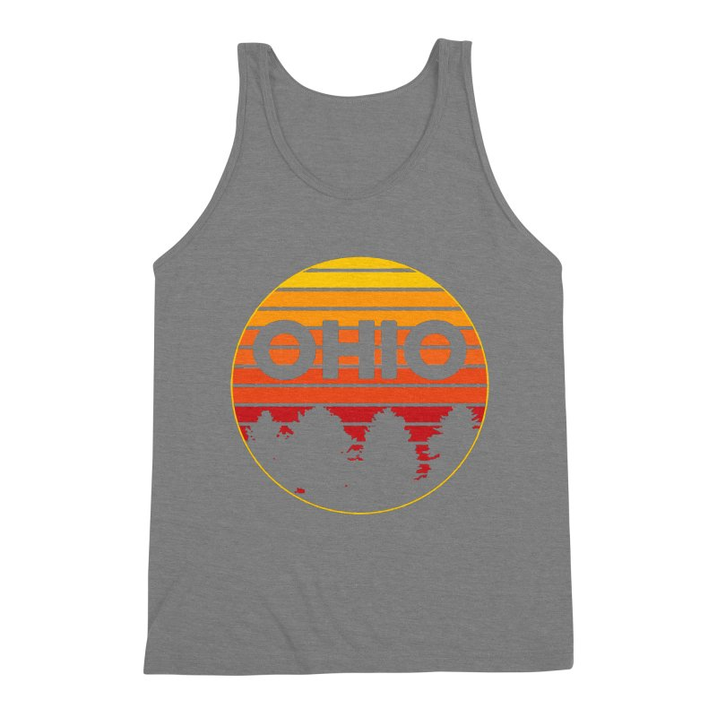 Ohio Sunsets Men's Triblend Tank by EngineHouse13's Artist Shop