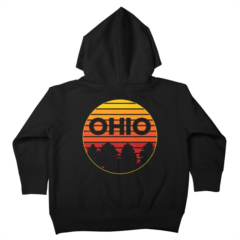 Ohio Sunsets Kids Toddler Zip-Up Hoody by EngineHouse13's Artist Shop
