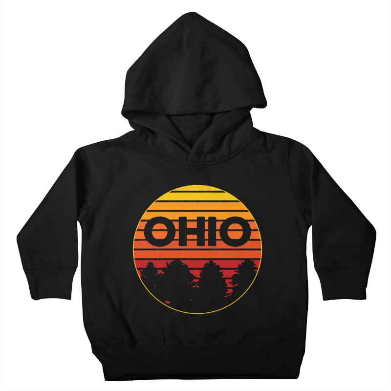 Ohio Sunsets Kids Toddler Pullover Hoody by EngineHouse13's Artist Shop