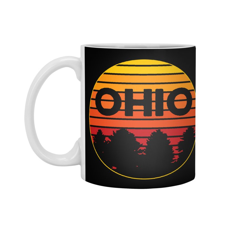 Ohio Sunsets Accessories Mug by EngineHouse13's Artist Shop