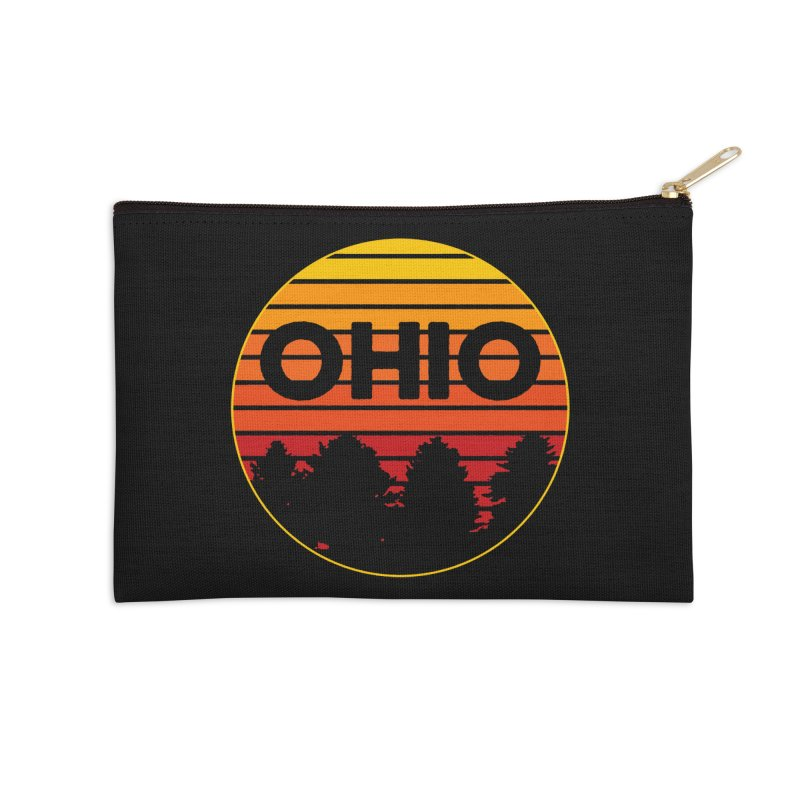 Ohio Sunsets Accessories Zip Pouch by EngineHouse13's Artist Shop