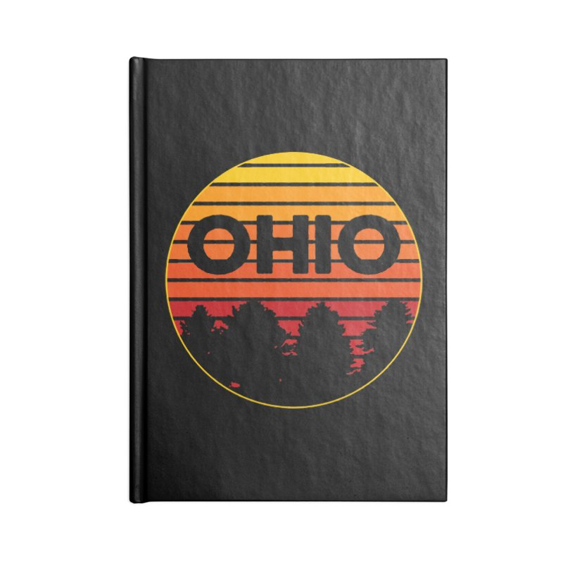 Ohio Sunsets Accessories Blank Journal Notebook by EngineHouse13's Artist Shop