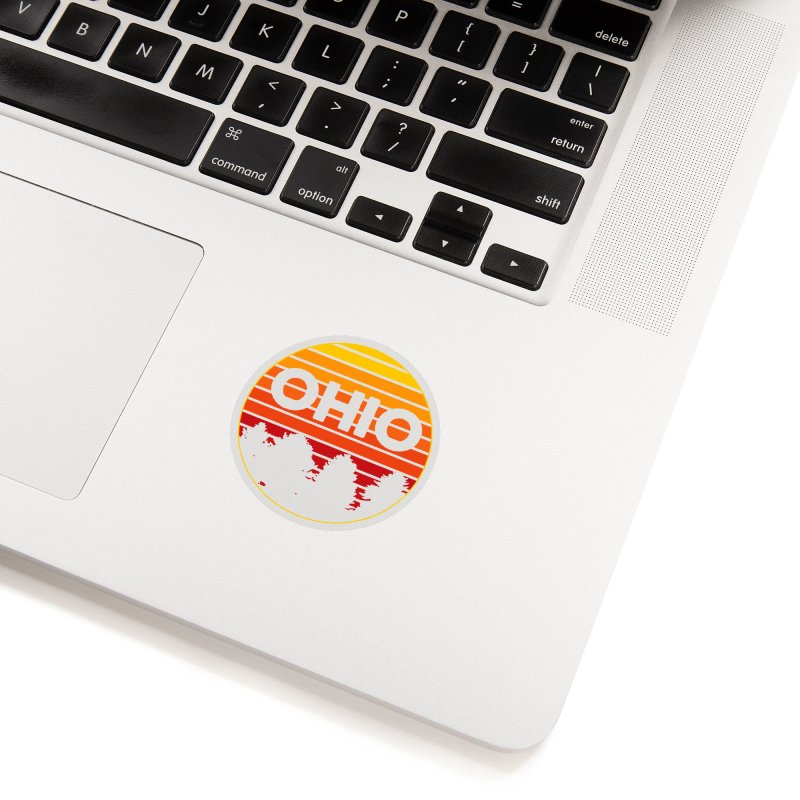 Ohio Sunsets Accessories Sticker by EngineHouse13's Artist Shop