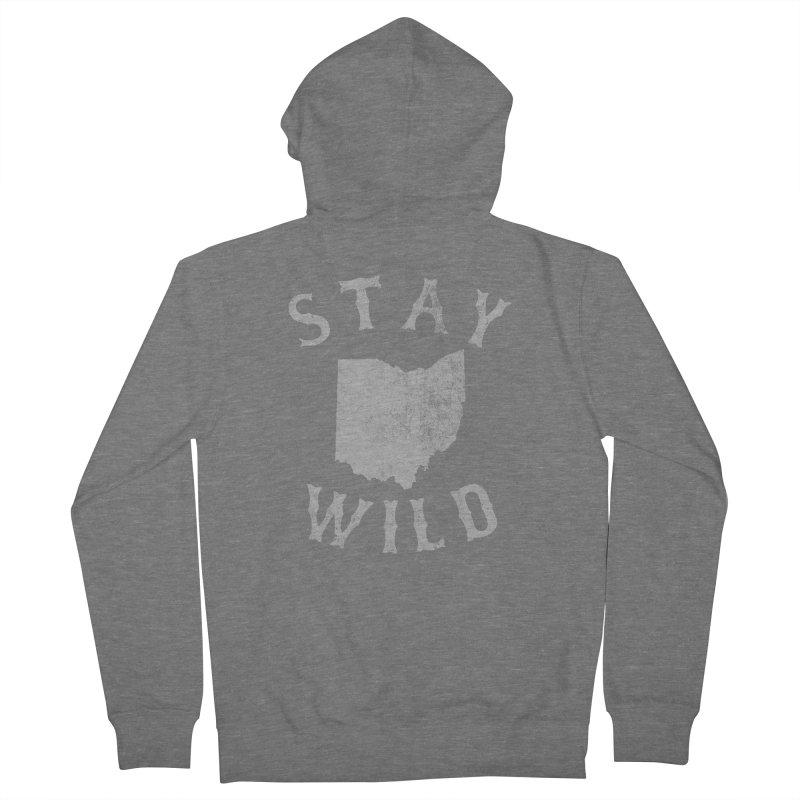 Stay Wild Ohio! Men's Zip-Up Hoody by EngineHouse13's Artist Shop