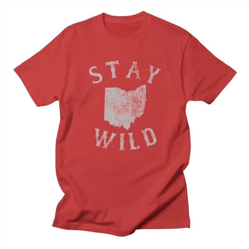 Stay Wild Ohio! Men's T-Shirt by EngineHouse13's Artist Shop