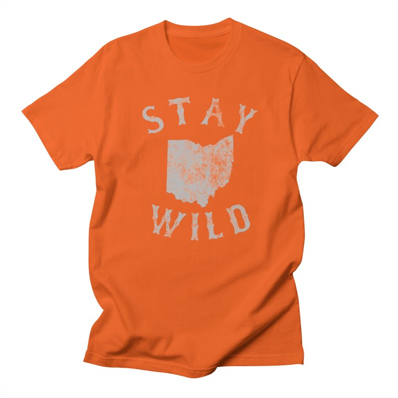 Stay Wild Ohio! Men's T-Shirt by EngineHouse13's Artist Shop