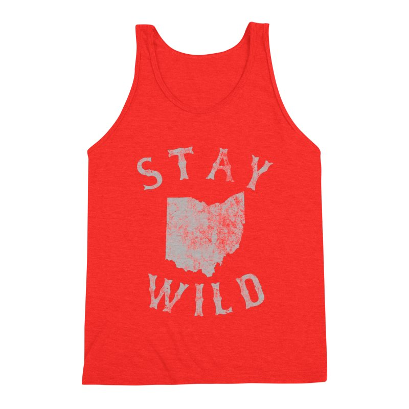Stay Wild Ohio! Men's Tank by EngineHouse13's Artist Shop