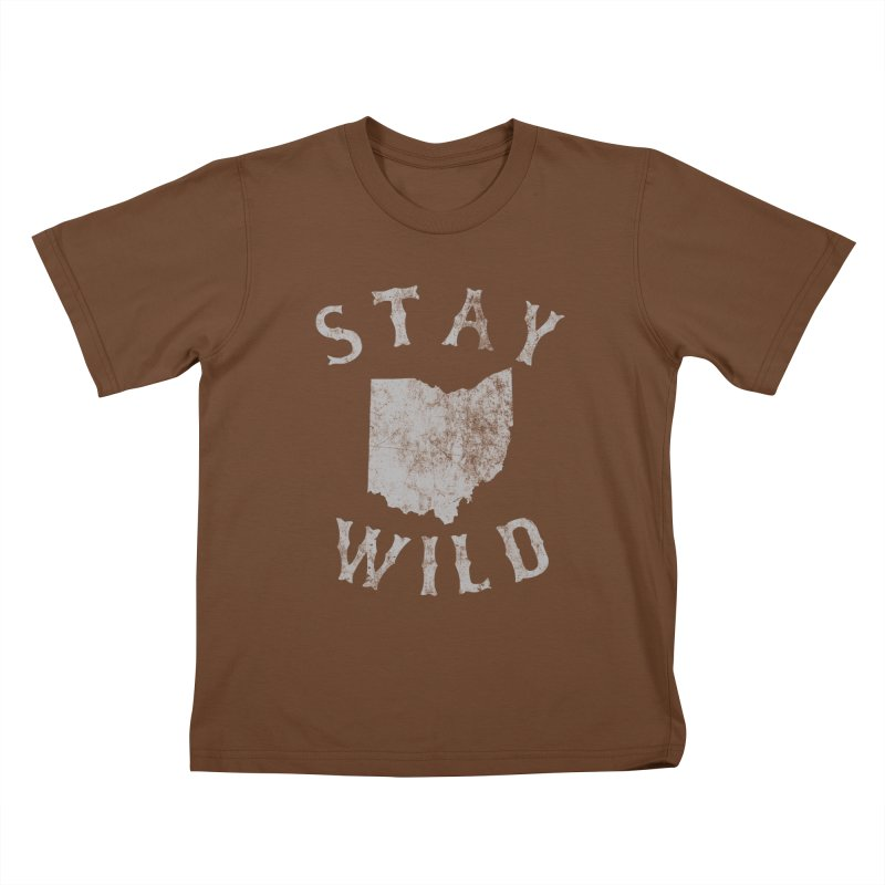 Stay Wild Ohio! Kids T-Shirt by EngineHouse13's Artist Shop