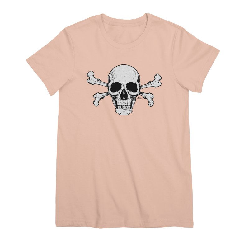 Crossbones Women's Premium T-Shirt by EngineHouse13's Artist Shop