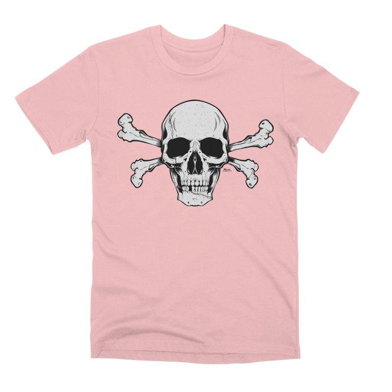 Crossbones Men's Premium T-Shirt by EngineHouse13's Artist Shop