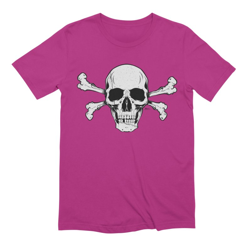 Crossbones Men's Extra Soft T-Shirt by EngineHouse13's Artist Shop