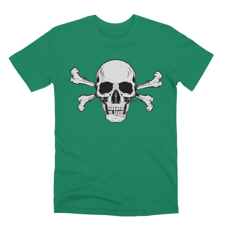 Crossbones Men's Premium T-Shirt by EngineHouse13's Artist Shop