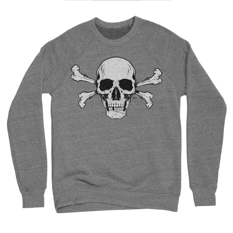 Crossbones Men's Sponge Fleece Sweatshirt by EngineHouse13's Artist Shop