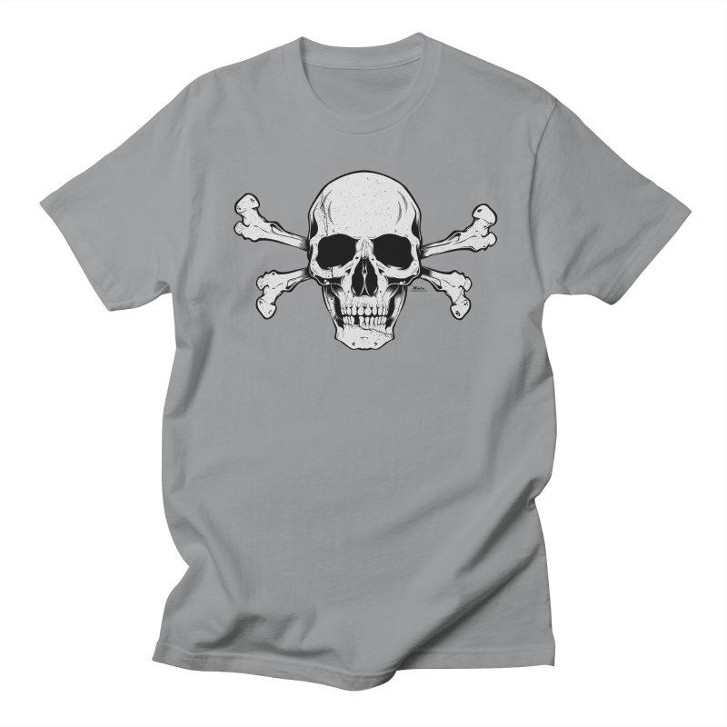 Crossbones Women's Regular Unisex T-Shirt by EngineHouse13's Artist Shop
