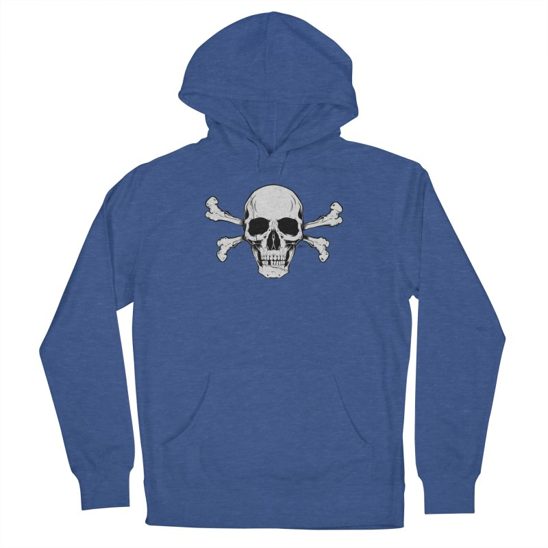 Crossbones Women's French Terry Pullover Hoody by EngineHouse13's Artist Shop