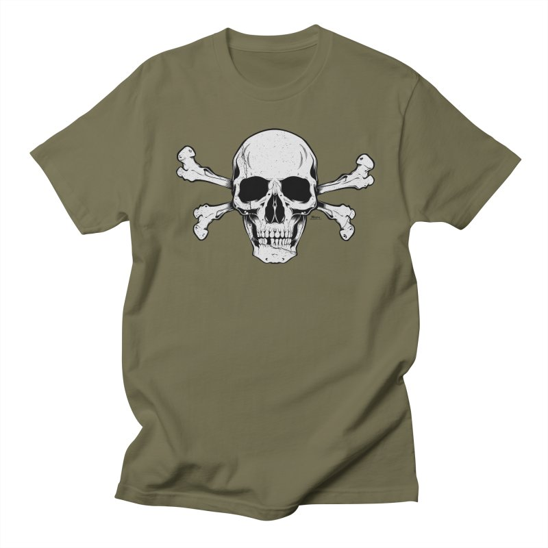 Crossbones Men's Regular T-Shirt by EngineHouse13's Artist Shop