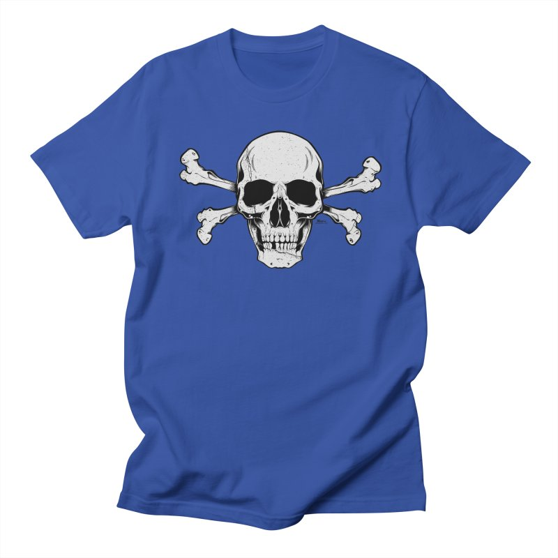 Crossbones Women's Regular Unisex T-Shirt by EngineHouse13's Artist Shop