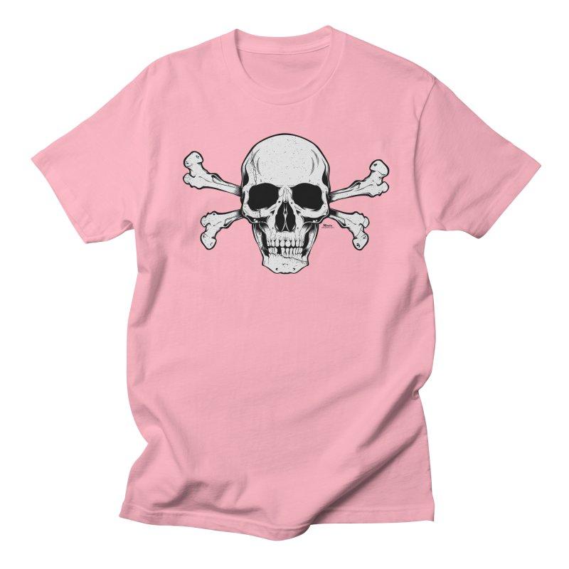 Crossbones Men's Regular T-Shirt by EngineHouse13's Artist Shop