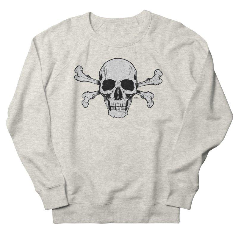 Crossbones Women's French Terry Sweatshirt by EngineHouse13's Artist Shop