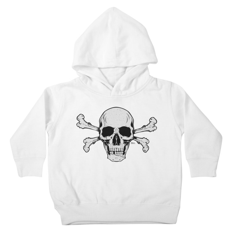 Crossbones Kids Toddler Pullover Hoody by EngineHouse13's Artist Shop