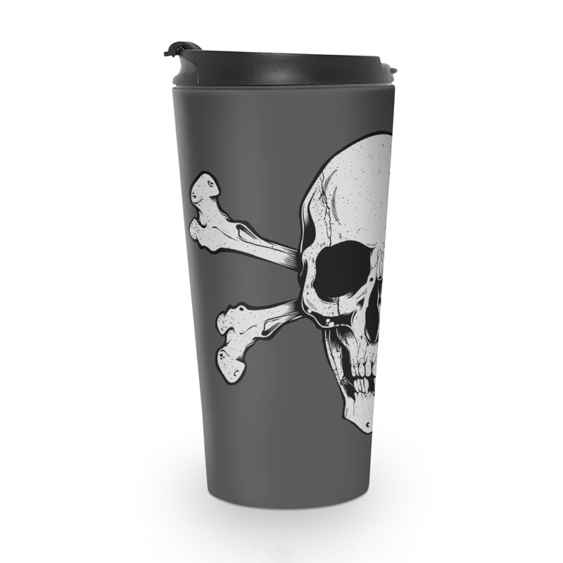 Crossbones Accessories Travel Mug by EngineHouse13's Artist Shop