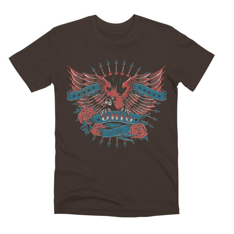 Ohio Proud Men's Premium T-Shirt by EngineHouse13's Artist Shop