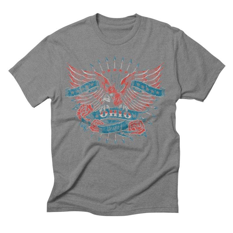 Ohio Proud Men's T-Shirt by EngineHouse13's Artist Shop