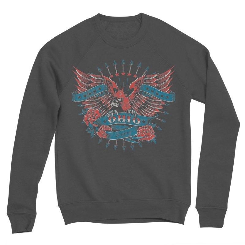 Ohio Proud Men's Sponge Fleece Sweatshirt by EngineHouse13's Artist Shop