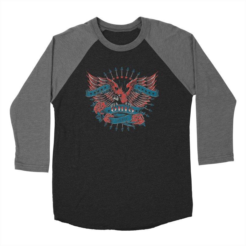 Ohio Proud Women's Longsleeve T-Shirt by EngineHouse13's Artist Shop