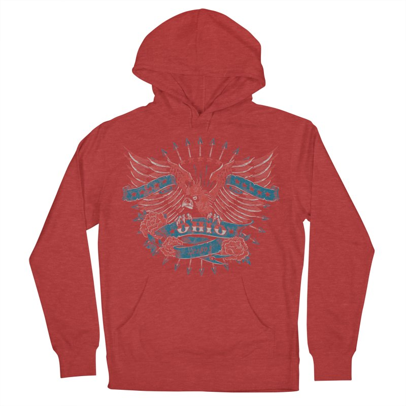 Ohio Proud Women's French Terry Pullover Hoody by EngineHouse13's Artist Shop
