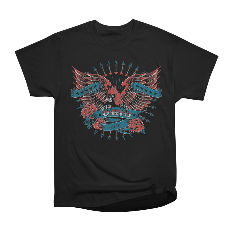Ohio Proud Women's Heavyweight Unisex T-Shirt by EngineHouse13's Artist Shop