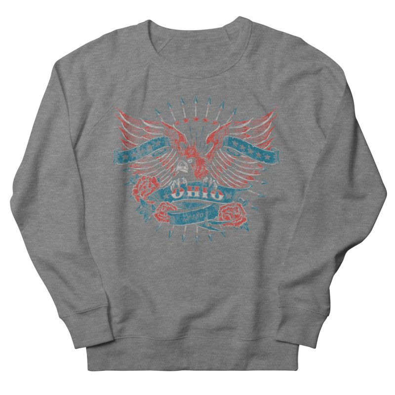 Ohio Proud Women's French Terry Sweatshirt by EngineHouse13's Artist Shop