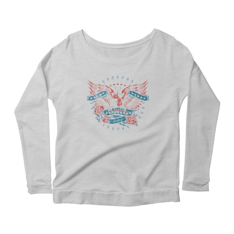 Ohio Proud Women's Scoop Neck Longsleeve T-Shirt by EngineHouse13's Artist Shop