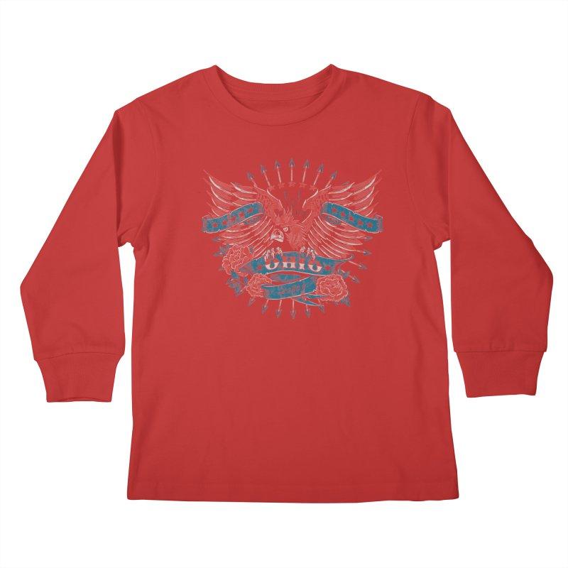 Ohio Proud Kids Longsleeve T-Shirt by EngineHouse13's Artist Shop