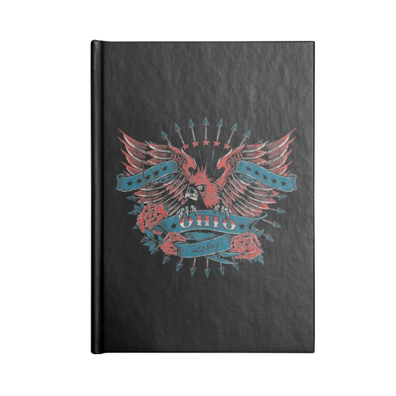 Ohio Proud Accessories Lined Journal Notebook by EngineHouse13's Artist Shop