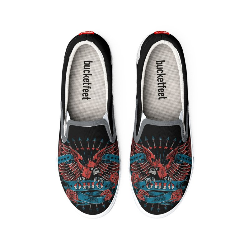 Ohio Proud Women's Shoes by EngineHouse13's Artist Shop