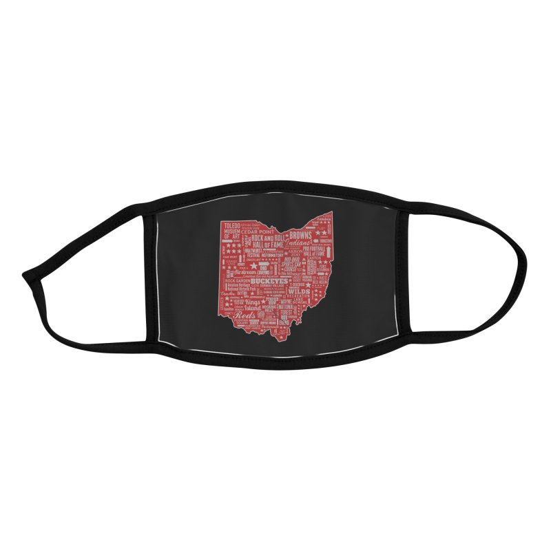 Ohio Destinations Accessories Face Mask by EngineHouse13's Artist Shop
