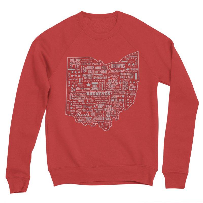 Ohio Destinations Men's Sponge Fleece Sweatshirt by EngineHouse13's Artist Shop