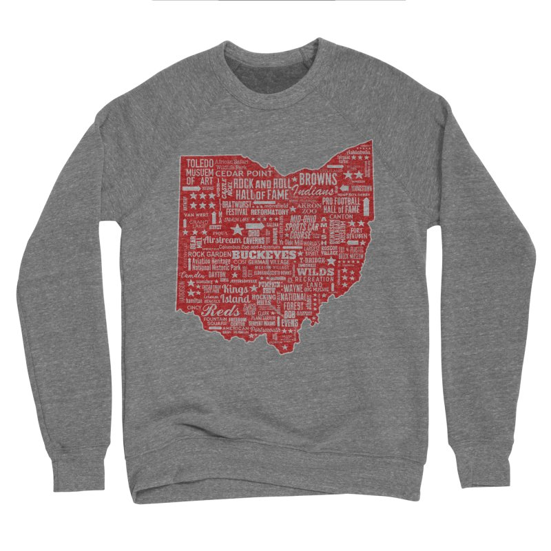 Ohio Destinations Women's Sponge Fleece Sweatshirt by EngineHouse13's Artist Shop