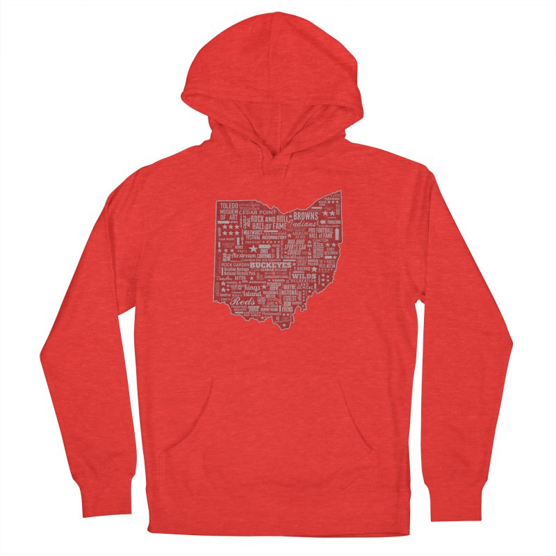 Ohio Destinations Men's Pullover Hoody by EngineHouse13's Artist Shop