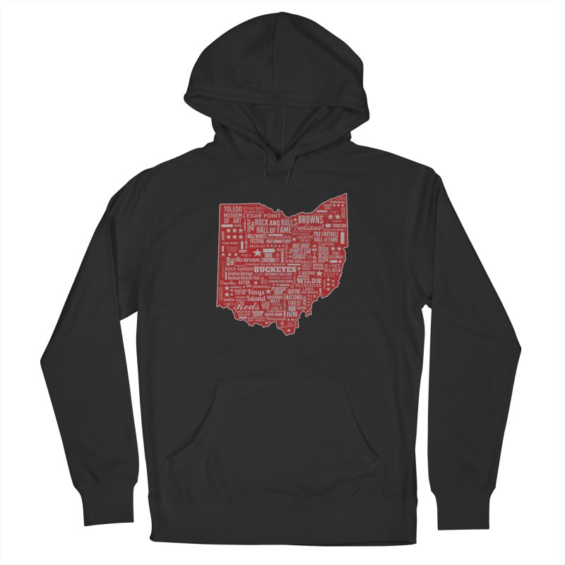 Ohio Destinations Men's French Terry Pullover Hoody by EngineHouse13's Artist Shop
